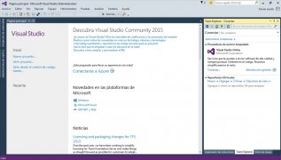 Visual Studio 2015 bild 5 Thumbnail
