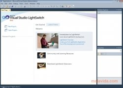 Visual Studio LightSwitch imagen 1 Thumbnail