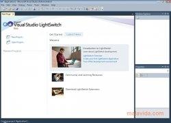 Visual Studio LightSwitch imagem 1 Thumbnail