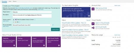 Visual Studio Online imagen 2 Thumbnail