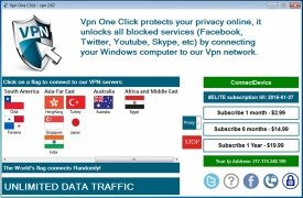Vpn One Click immagine 2 Thumbnail