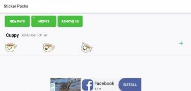 Stickers Creativos para WhatsApp - WAStickerApps imagen 1 Thumbnail