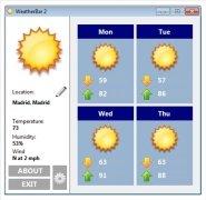 WeatherBar imagem 1 Thumbnail