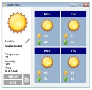 WeatherBar Изображение 1 Thumbnail