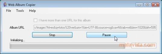 Web Album Copier image 3 Thumbnail
