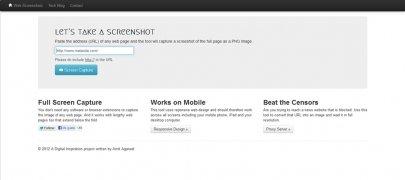 Web Screenshots imagen 1 Thumbnail