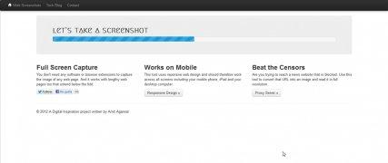 Web Screenshots imagen 2 Thumbnail