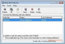 Web Site Publisher imagen 1 Thumbnail