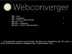 Webconverger imagen 1 Thumbnail