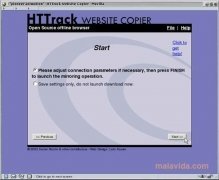 WebHTTrack imagem 4 Thumbnail