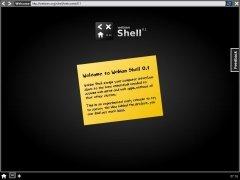 Webian Shell  0.1 Beta imagen 1
