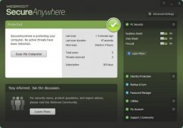 Webroot SecureAnywhere AntiVirus imagen 1 Thumbnail