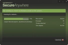 Webroot SecureAnywhere AntiVirus imagen 4 Thumbnail