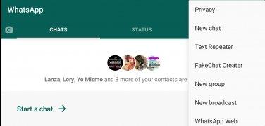 WhatsApp Dark 画像 1 Thumbnail