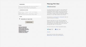 WhatsApp Web Client imagem 2 Thumbnail