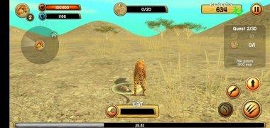 Wild Cheetah Sim 3D imagen 1 Thumbnail