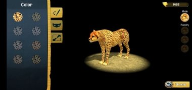 Wild Cheetah Sim 3D imagen 13 Thumbnail