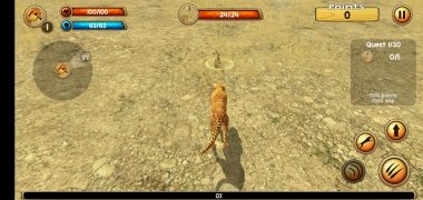 Wild Cheetah Sim 3D imagen 6 Thumbnail