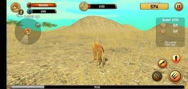 Wild Cheetah Sim 3D imagen 9 Thumbnail
