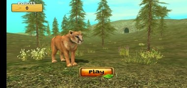 Wild Cougar Sim 3D imagen 2 Thumbnail