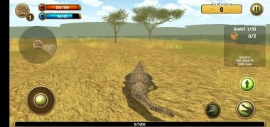 Wild Crocodile Simulator 3D imagem 7 Thumbnail