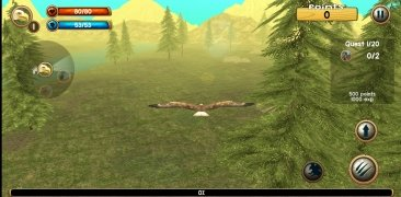 Wild Eagle Sim 3D imagen 3 Thumbnail