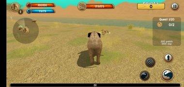 Wild Elephant Sim 3D imagen 5 Thumbnail