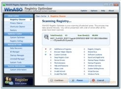 WinASO Registry Optimizer imagen 1 Thumbnail