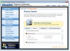 WinASO Registry Optimizer imagen 2 Thumbnail