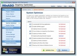 WinASO Registry Optimizer Изображение 3 Thumbnail