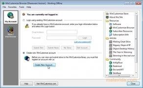 WinCustomize Browser imagen 3 Thumbnail