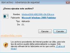 Windows 2000 Blaster Update imagem 2 Thumbnail