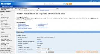 Windows 2000 Blaster Update imagem 3 Thumbnail