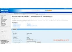 Windows 2000 SP4 bild 3 Thumbnail
