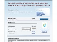 Windows 2000 Update KB292435 imagen 1 Thumbnail