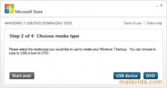 Windows 7 USB/DVD Download Tool imagem 2 Thumbnail