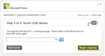 Windows 7 USB/DVD Download Tool bild 3 Thumbnail