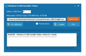 Windows 8 USB Installer Maker imagen 1 Thumbnail