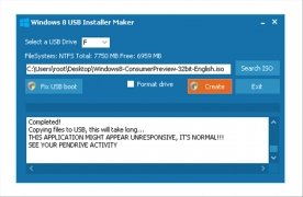 Windows 8 USB Installer Maker imagen 4 Thumbnail