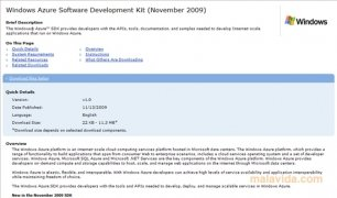 Windows Azure SDK imagem 2 Thumbnail