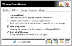 Windows Firewall Control bild 2 Thumbnail