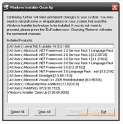 Windows Installer CleanUp Utility imagen 1 Thumbnail
