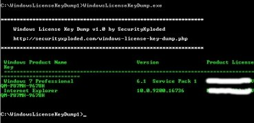 Windows License Key Dump bild 2 Thumbnail