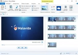 Windows Live Movie Maker  2011 Español imagen 1
