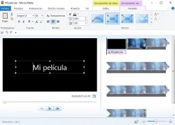 Windows Live Movie Maker  2011 Español imagen 2
