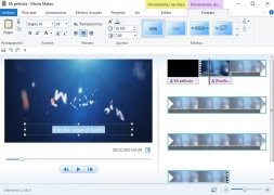 Windows Live Movie Maker  2011 Español imagen 3