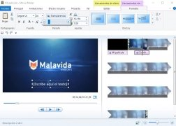 Windows Live Movie Maker  2011 Español imagen 4