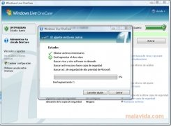 Windows Live OneCare imagen 2 Thumbnail