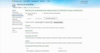 Windows Live Protección Infantil imagen 4 Thumbnail