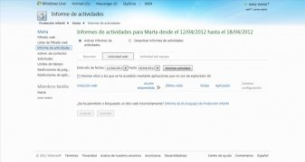 Windows Live Family Safety immagine 5 Thumbnail
